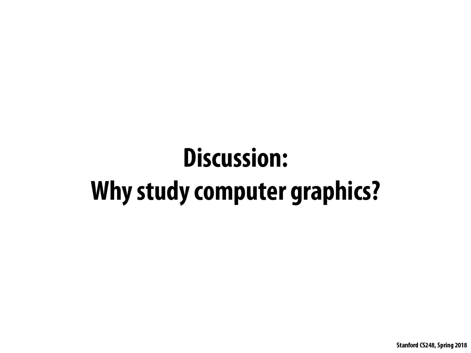 Slide View : Stanford CS248 : Interactive Computer Graphics