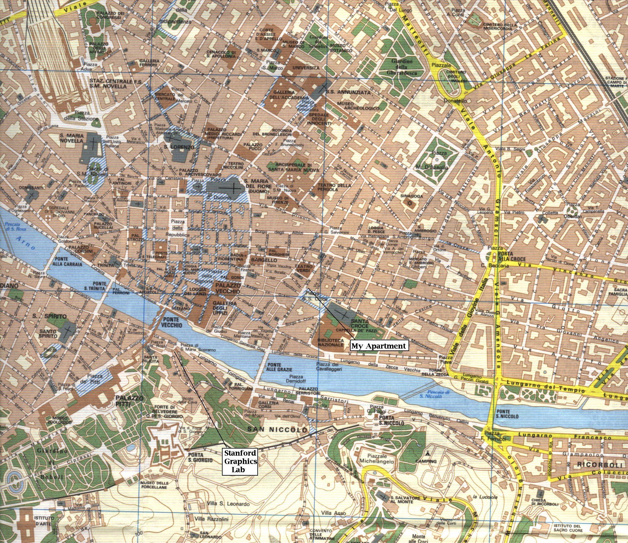 Amendola Italy Map.Map Of Florence Lucas Pereira