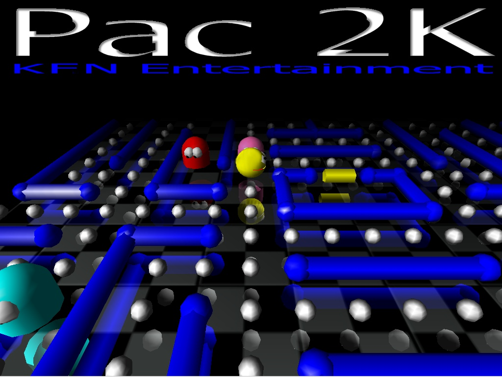 CS 248 Video Game / Pac 2K : Pacman's Revenge