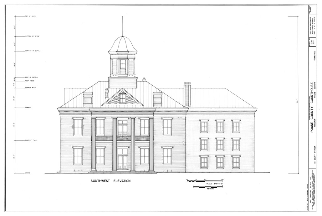 Measuring Buildings For The Historic American Survey