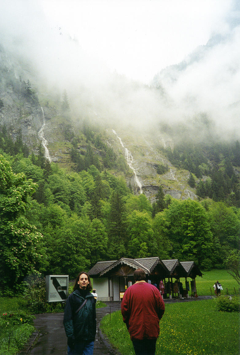 Walking up the mountain - 2 2