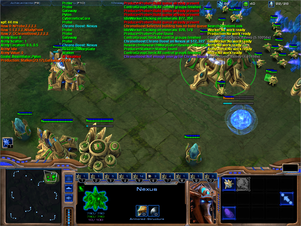 Matt's Webcorner - Starcraft 2 Automated Player