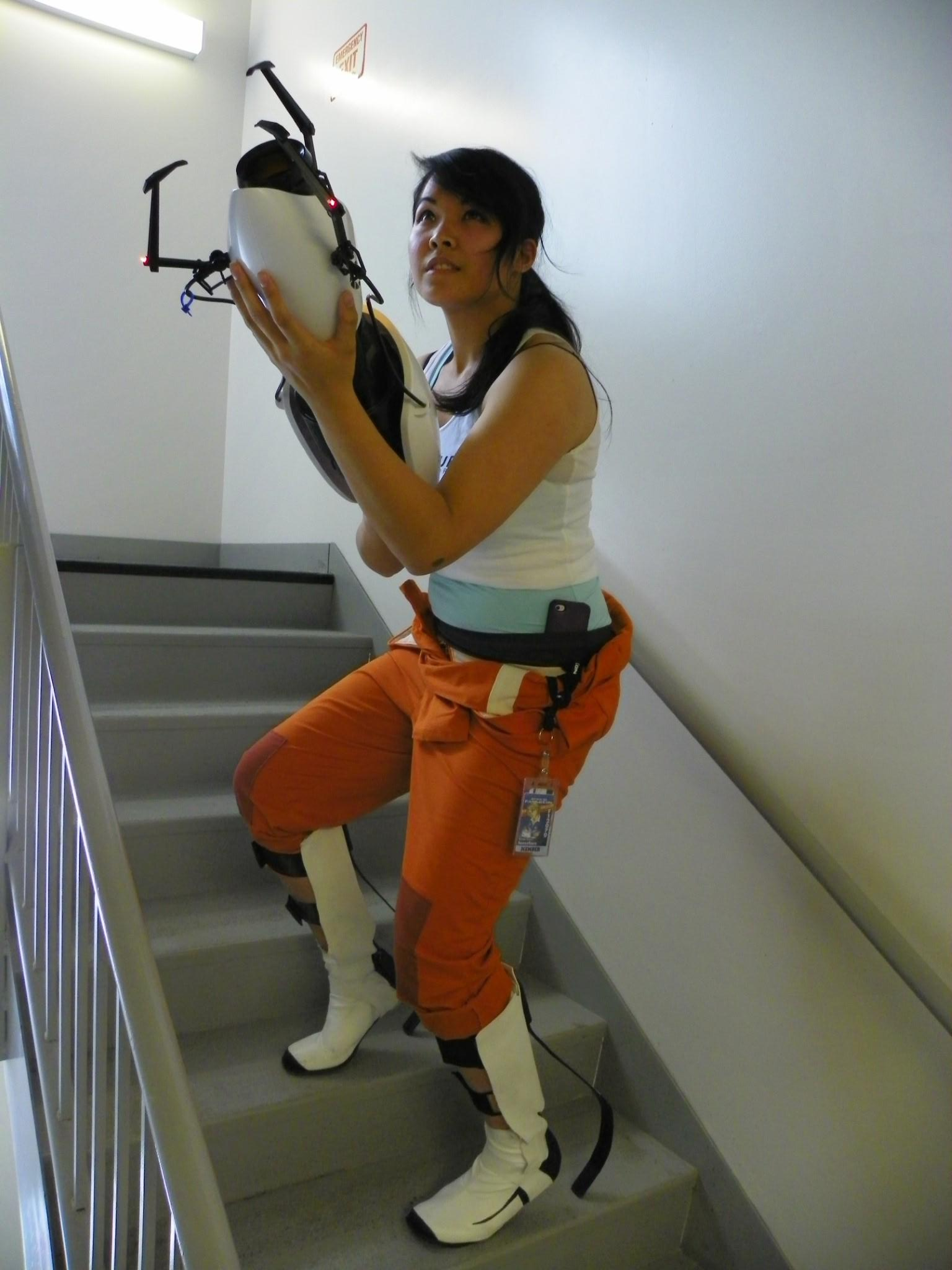 My Chell Cosplay Debut Like It